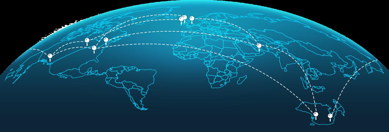 Our global reach