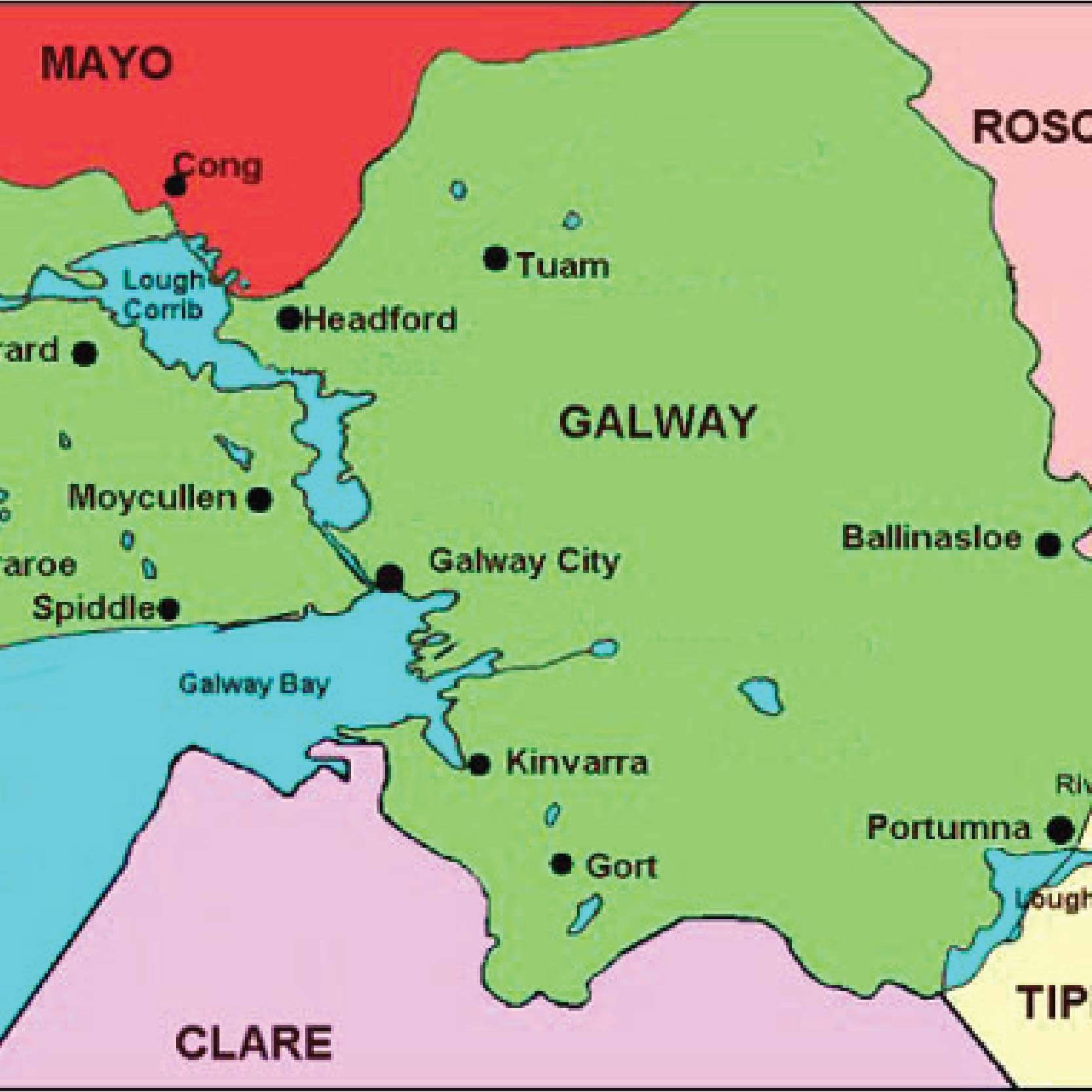 Small Map Of Ireland.Major Regeneration Small 01 Ssa Group Ireland