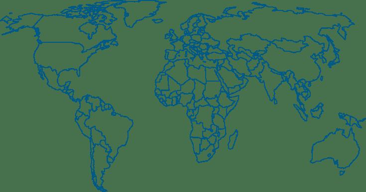 SSA Group worldmap